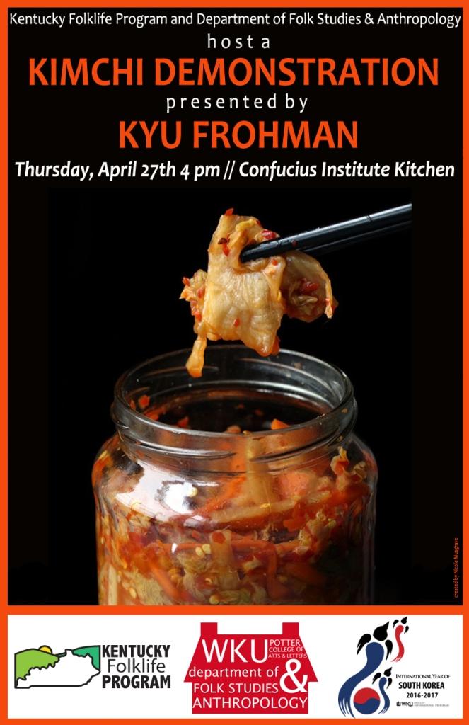 KFP Kimchi Demonstration Poster